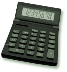Decoration - Photo of a square calculator