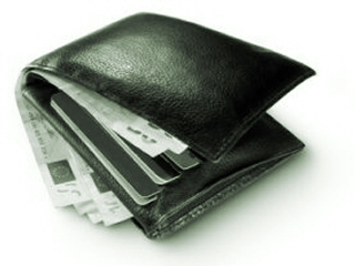 Decoration - Photo of a full wallet