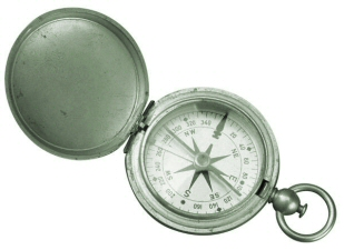 Decoration - Photo of a compass